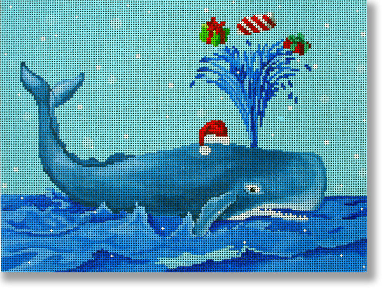 Whale with Presents