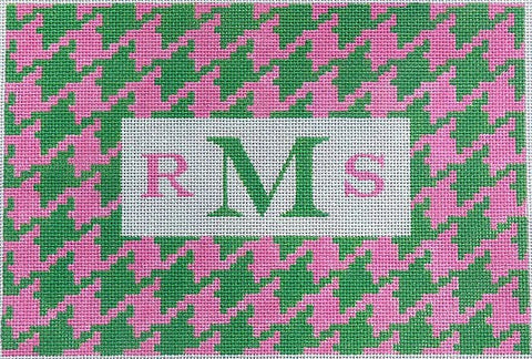 Houndstooth w/ Monogram Space