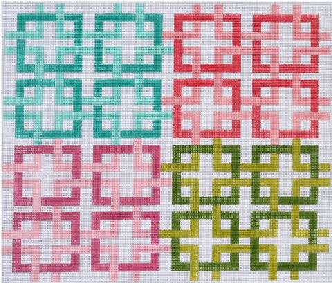Large Interlocking Squares - Multi