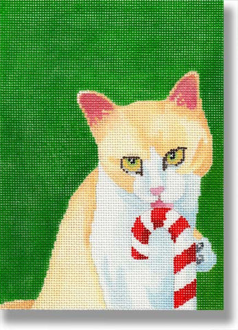 Candy Cane Kitty