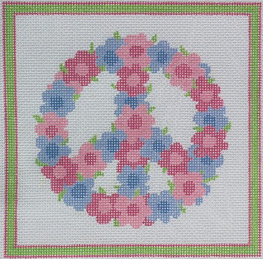 Annie's Peace Sign - BeStitched Needlepoint