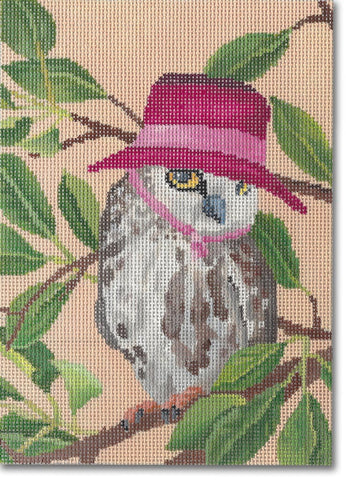 Dapper Owl w/ Hat