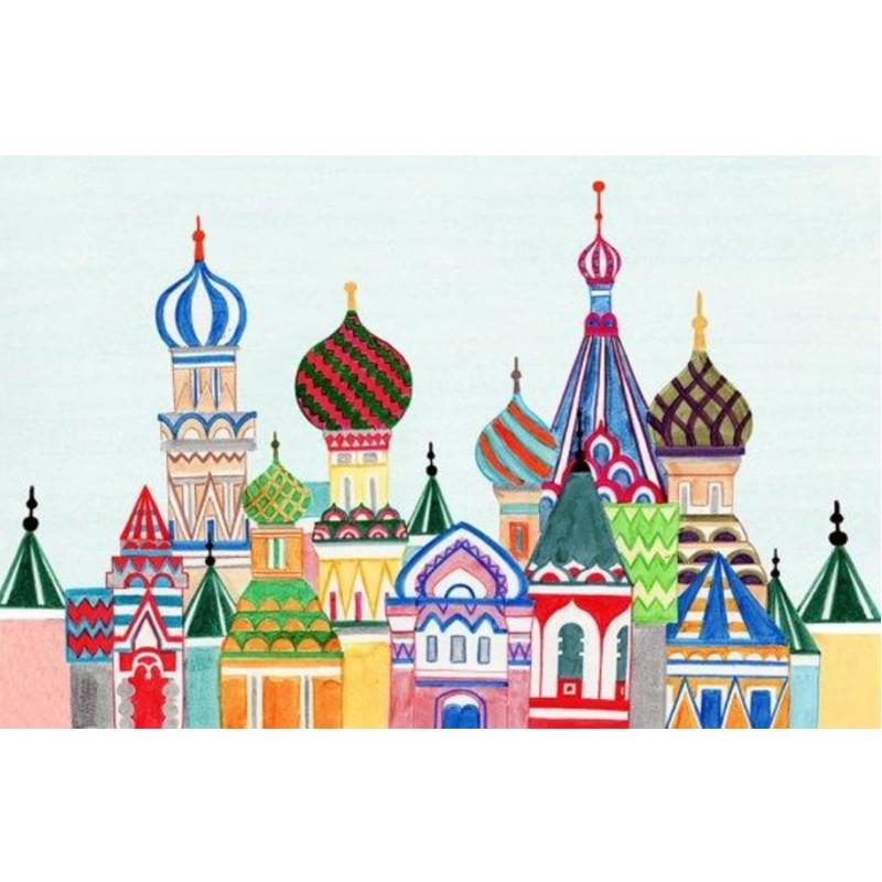 SEE 1424 - RUSSIAN ARCHITECTURE