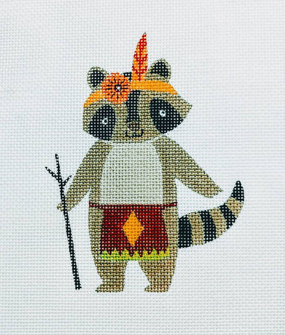 Tribal Raccoon
