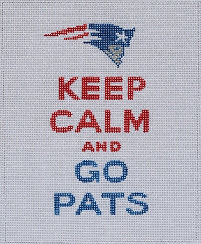 Keep Calm & Go Pats