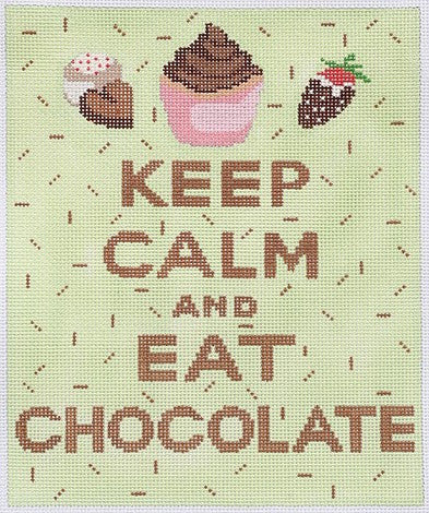 Keep Calm & Eat Chocolate