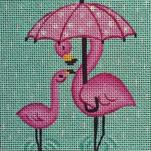 Umbrella Flamingo