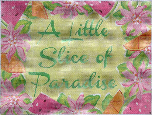 A Little Slice of Paradise - BeStitched Needlepoint