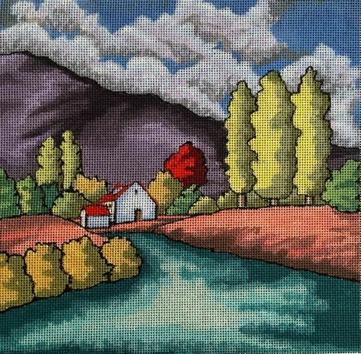 The Getaway - BeStitched Needlepoint