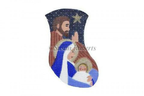 Madonna And Child mini stocking