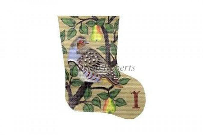 Partridge Day 1 mini stocking