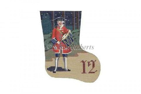 Drummer Drumming Day 12 mini stocking