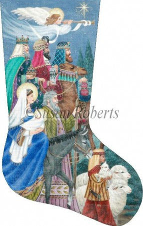 Nativity II stocking