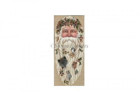 Santa And Critters ornament