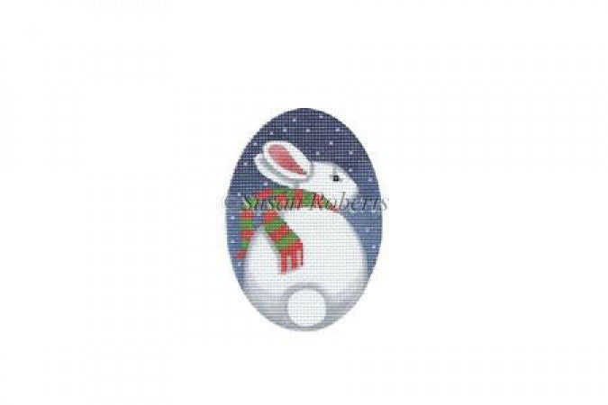 Rabbit And Snow ornament