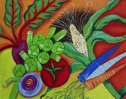Vegetables - BeStitched Needlepoint