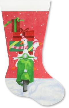 Scooter Geese Shopping stocking