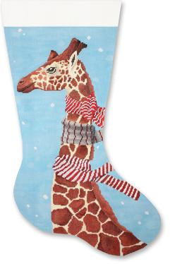 Giraffe with Scarves Stocking