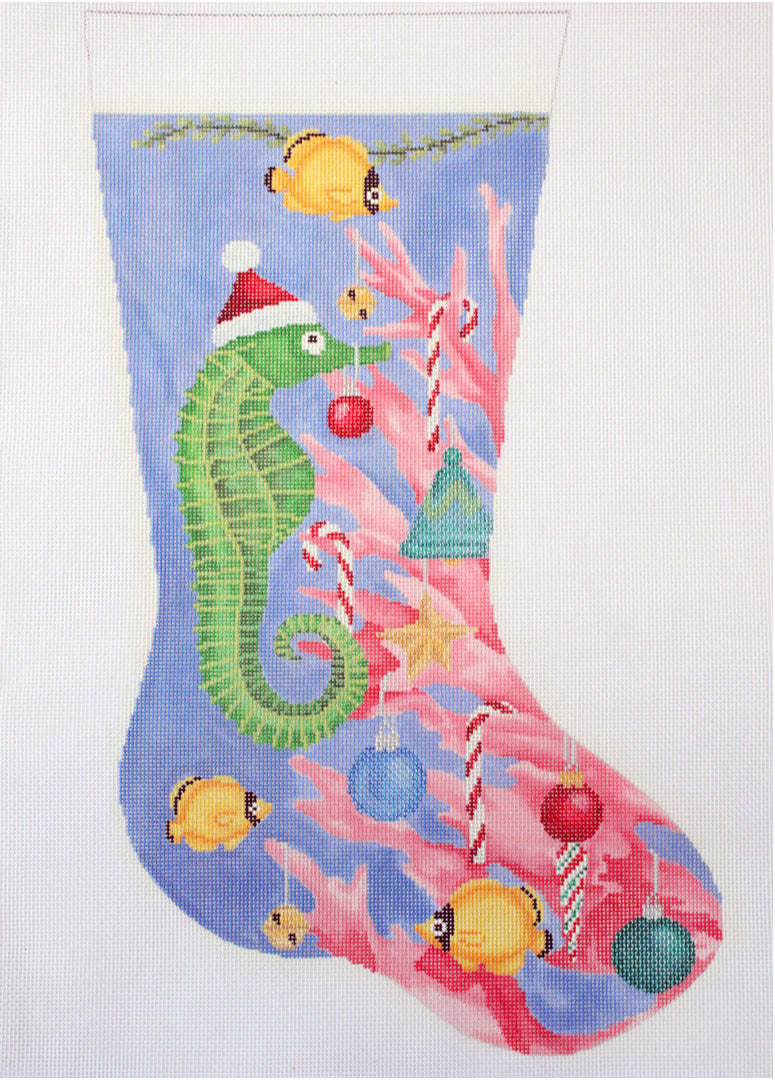 Seahorse Decorating Tree stocking
