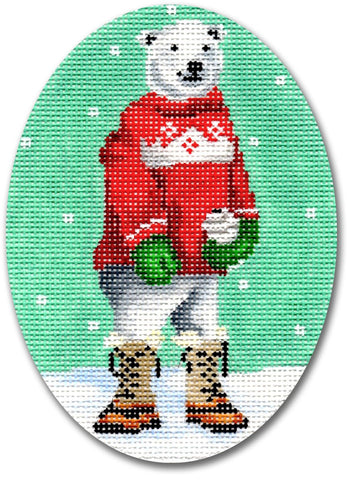Polar Bear w/ Red Sweater