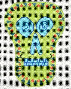 Sugar Skull II Green