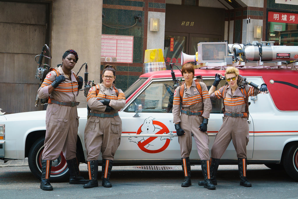 (Photo of the badass gal Ghostbusters was found on Google)
