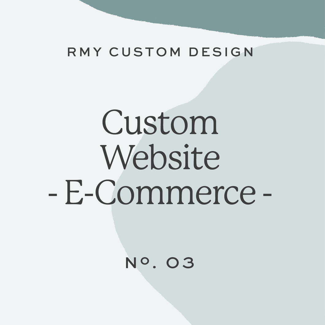 Custom Website - E-Commerce