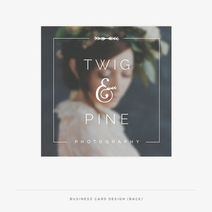 Twig & Pine Marketing Kit