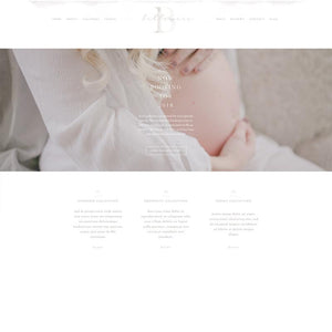 Belle Mere Showit Template
