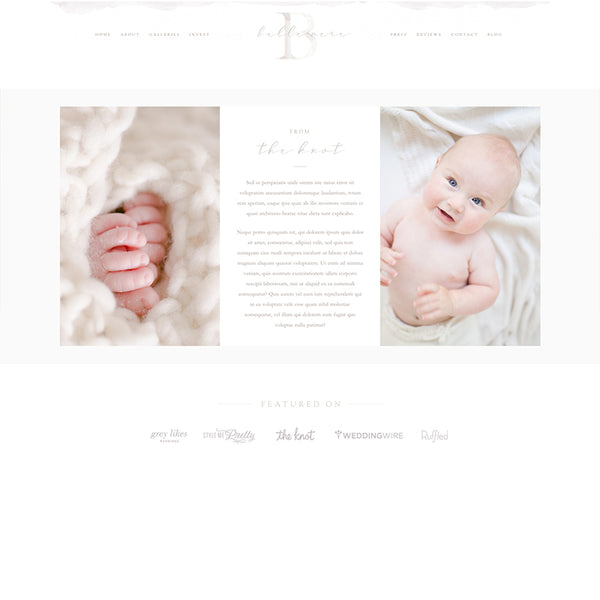 Belle Mere ProPhoto 7 Template