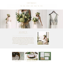Load image into Gallery viewer, Botanica Squarespace Template