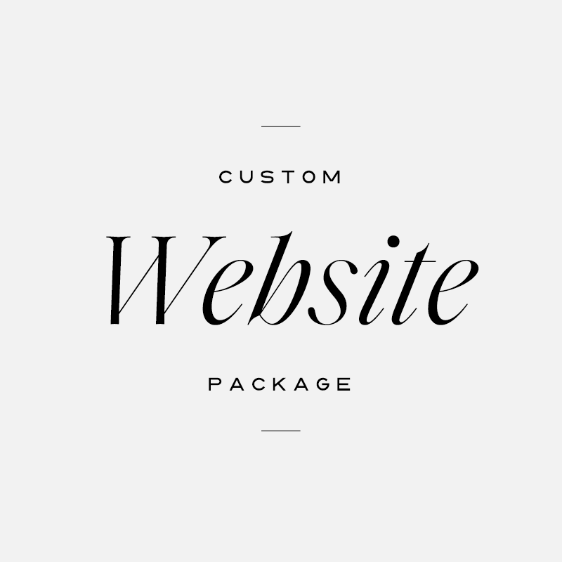 Custom Website Package