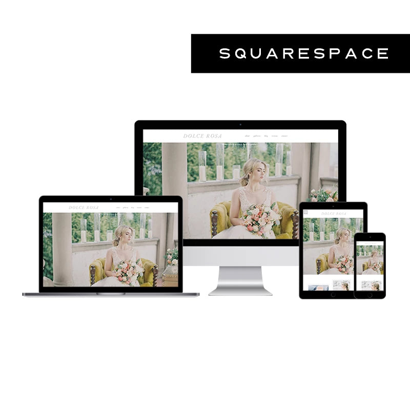 Dolce Rosa Squarespace Template