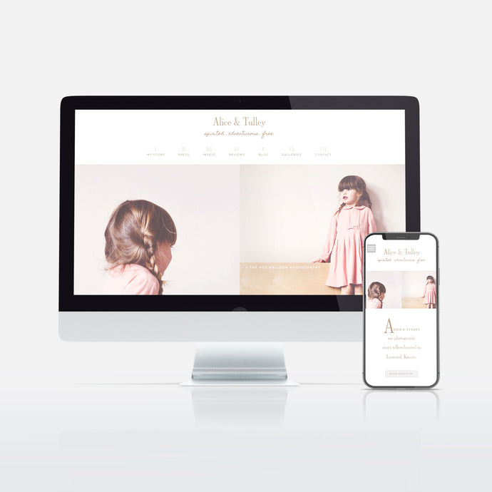 Alice & Tulley Website Template