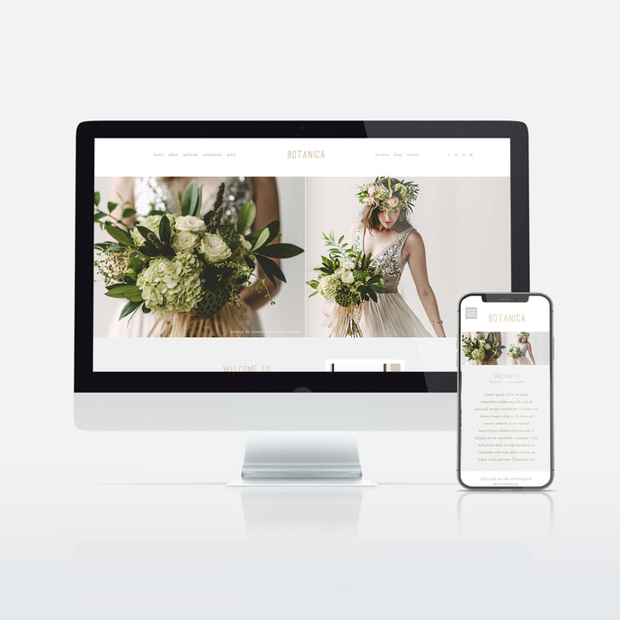 Botanica Website Template