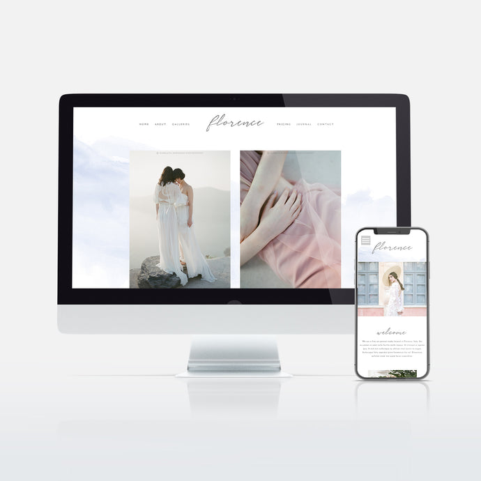 Florence Website Template