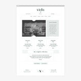 Viola Squarespace Template & Expert Install