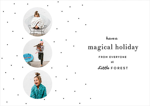 Little Forest Holiday Printable
