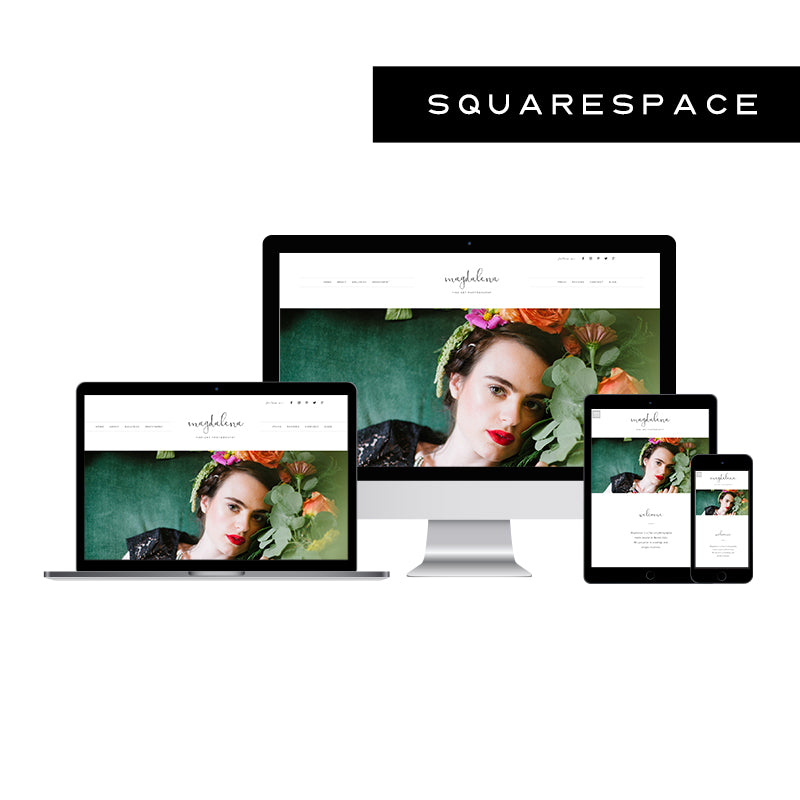 Magdalena Squarespace Template