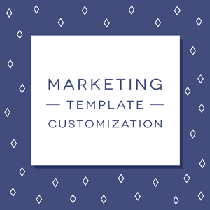 Marketing Template Customization