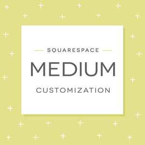 Squarespace Medium Customization