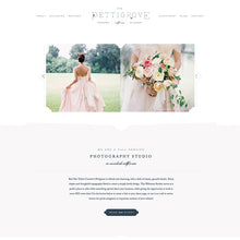 Load image into Gallery viewer, Pettigrove Squarespace Template