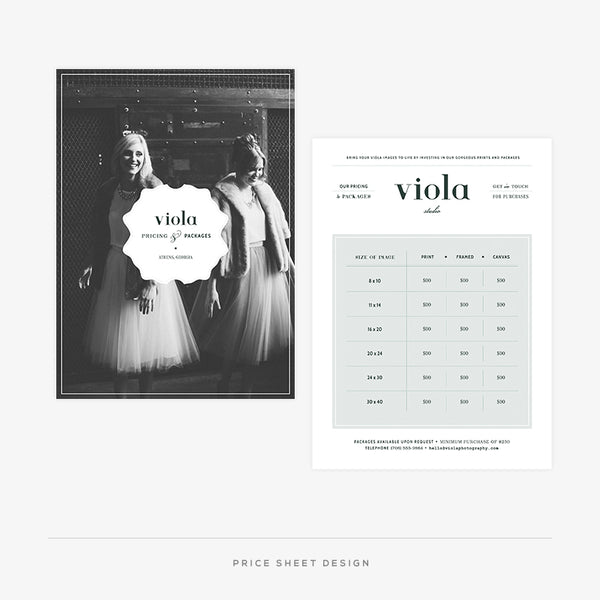 Viola II Welcome Packet