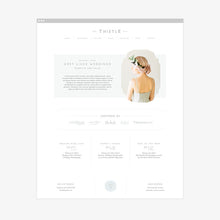 Load image into Gallery viewer, Thistle Squarespace Template