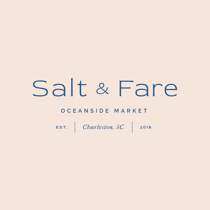 Salt & Fare Logo Template