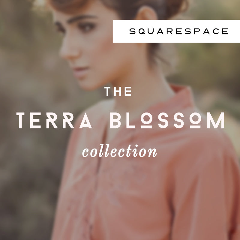 Terra Blossom Squarespace Collection