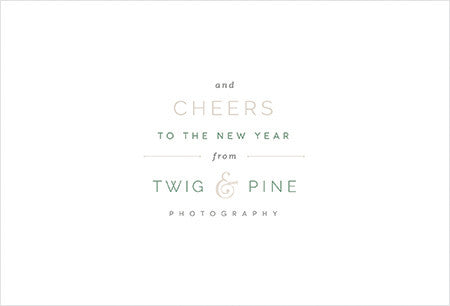 Twig & Pine II Holiday Printable
