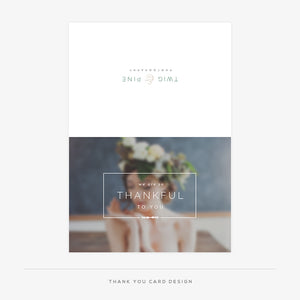 Twig & Pine Welcome Packet