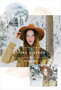Terra Blossom Holiday Printable