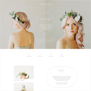 Thistle Squarespace Template